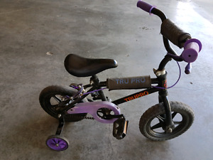 Tru Pro Kids Bike with Training Wheels