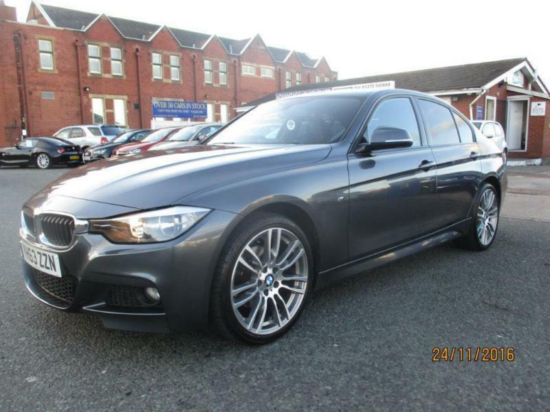 2013 BMW 3 Series 2.0 320d M Sport 4dr (start/stop)