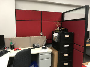 High End Teknion Office Dividers               Call 807-626-6533
