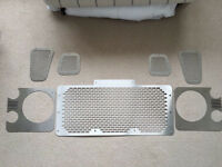 Land Rover Front Grills Set, Defender, 90, 110, Series, Headlight, Off Road