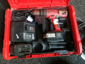 MILWAUKEE 18V HEAVY DUTY HAMMER DRILL