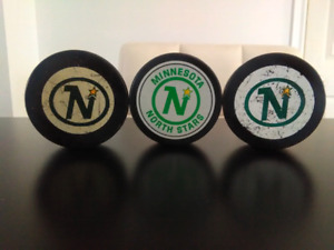 '70/80s Vintage Minnesota North Stars Pucks