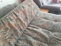 Caravan bench seat cushions see pictures for Condition