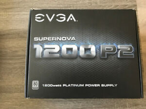 EVGA 1200 P2 Platinum power supply - Open box, mint condition.