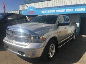 2015 Dodge 1500 Laramie LONGHORN SUNROOF/LONG BOX/CAMERA/LEATHER