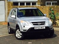 HONDA CRV 2.0 SE EXECUTIVE*10 SERVICE STAMPS*HEATED LEATHER SEATS*SAT NAV*MOT TILL JUNE 2017*MUST GO