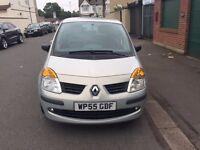 2006 Renault Modus Manual Petrol 1.4 16v Oasis 5dr Hatchback Silver Hpi Clear