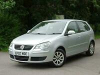 2007 Volkswagen Polo 1.4 SE 75 5dr Auto 2007 +CAMBELT DONE +FSH+ AUTOMATIC +2 KE