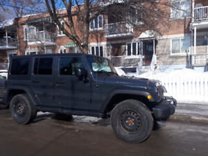 JEEP WRANGLER UNLIMITED WILLYS JK 2017 / 16 000 KM / COMME NEUF