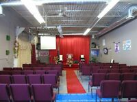 church space for rent, sublease space $2,500.00