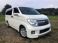 FRESH IMPORT 2006 FACE LIFT 4WD NISSAN ELGRAND XL BUSINESS EDITION V6 AUTO