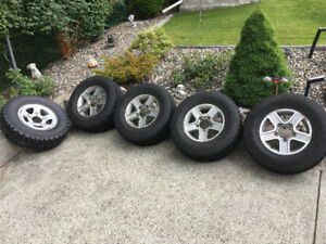 Selling 5 235/75/15 All Terrain Tires