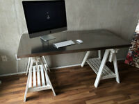 Modern Stainless Steel Work Table