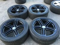 "21"" Audi Q7 alloy wheels alloys tyres rims 5x130 genuine Oem"