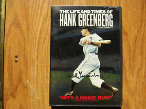 """FS: 1999 """"The Life And Times Of Hank Greenberg"""" DVD London Ontario image 1"""