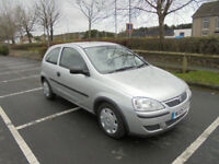 Vauxhall/Opel Corsa 1.0i 12v 2005.5MY Life ONLY 45000 MILES