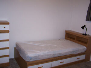 All INCLUSIVE and FULLY FURNISHED room for rent in a family home