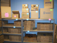 COBBLESTONE PACKAGING 1/2 PRICE MOVING BOXES AS LOW AS .40 CENTS