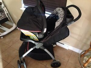 Safety first stroller carseat combo