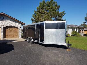 2012  Neo Enclosed 8x24' Aluminum Trailer