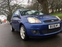 Ford Fiesta zetec blue edition 2008 NEW MOT 2 FORMER KEEPERS