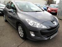 2009 59 Peugeot 308 1.6HDI ( 110bhp ) FAP SR 5 DR 87K 1FK £30 R/Tax Sat Nav