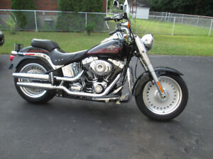 2007 Harley Fat boy with only 2500 Km.