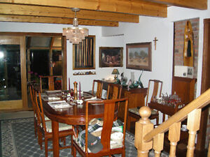 16 piece solid Rosewood Dining Room Set
