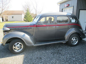1938 Plymouth 4 door slant back