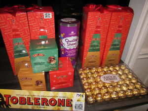Chocolates, Assorted Name Brands, New, Sealed