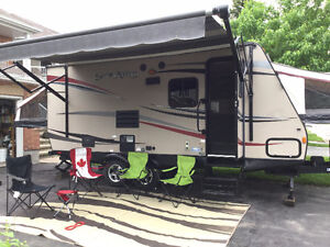 Perfect Family Camper, hybrid hard top tent trailer, 2013