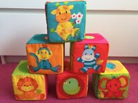 Mothercare Soft Cubes