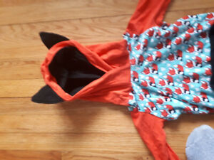 2 piece toddler 2-4 Fox outfit