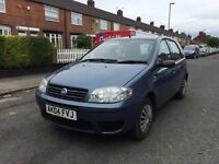 2004 FIAT PUNTO 1,2 CHEAP INSURANCE AND TAX £350
