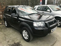 55 REG Land Rover Freelander TD4 S IN BLACK