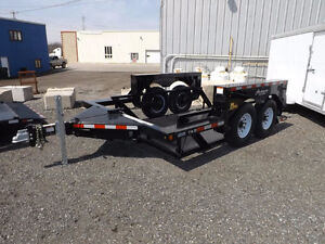 Drop Deck Trailers by Miska Trailer Factory
