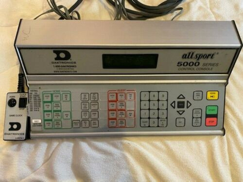 Daktronics All Sport 5000 Scoreboard controller. Excellent Condition 5010R5