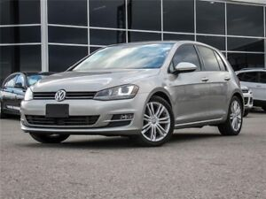 2015 Volkswagen Golf TSI | Heated Leather Seats | Sunroof | R...