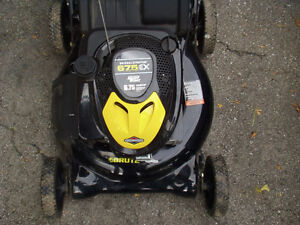 Lawnmower Brute 6.75 as new, mower, mulcher and bagger