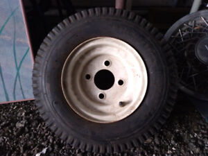 Wheel Assembly for Utility Trailer