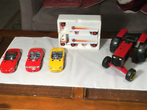 Lot of 5 Diecast Vehicles