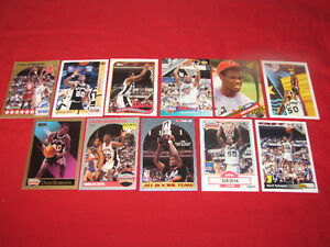 Collection of 167 Basketball Hall of Famer cards