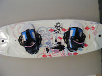 CWB Wakeboard Package with Bindings - $300