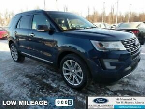 2016 Ford Explorer Limited 4WD|Moonroof|Adapt Cruise|Collision W