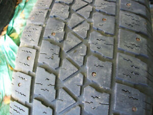 205/55/R16   STUDDED SNOW TIRES FOR SALE