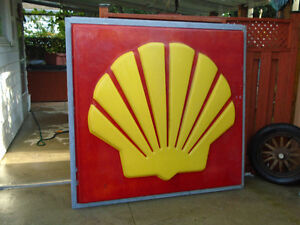 6' SHELL sign