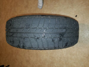 Winter tires set of 4 on rims