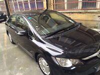 Honda Civic Hybrid Black