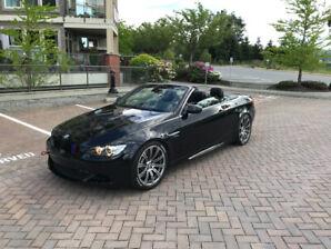 2008 BMW M3 convertible black