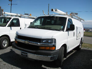 CHEVROLET EXPRESS, GMC SAVANA, FORD ECONOLINE